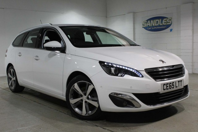 Peugeot 308 2.0 Blue HDi S/S SW Allure 5dr Estate 2015