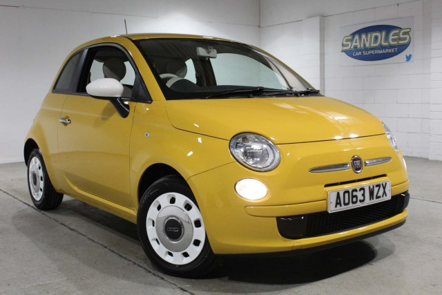 Fiat 500 1.2 Colour Therapy 3dr Hatchback 2014