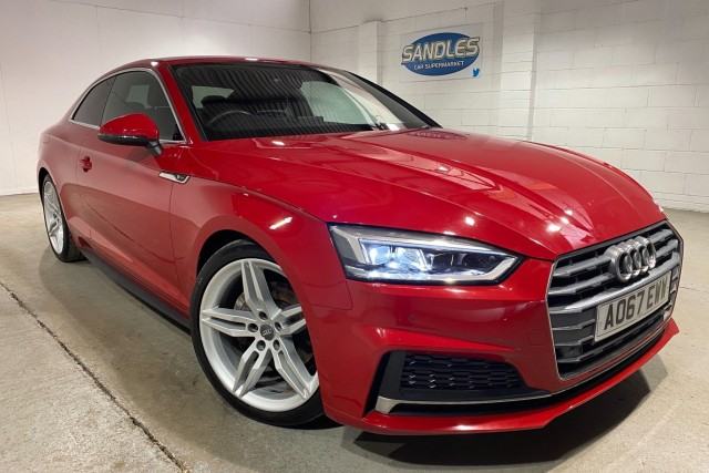Audi A5 2.0 TDi S Line 2dr Coupe 2017