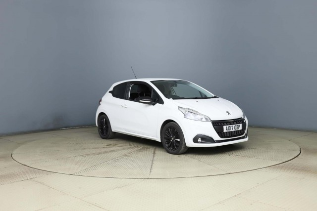 Peugeot 208 1.2 Puretech Black Edition 3dr Hatchback 2017