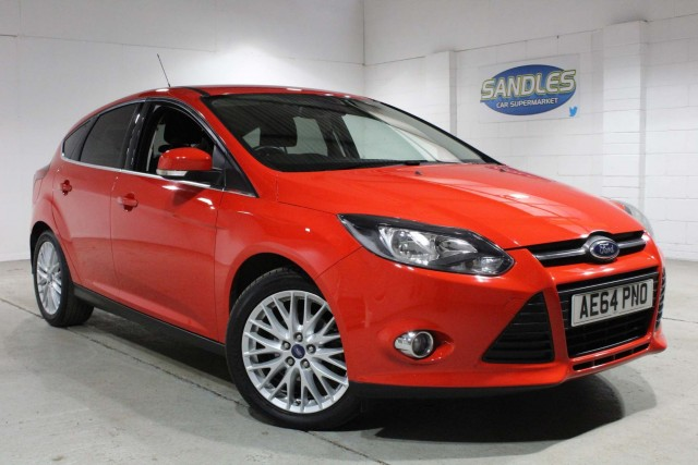 Ford Focus 1.6 Zetec 5dr Hatchback 2014