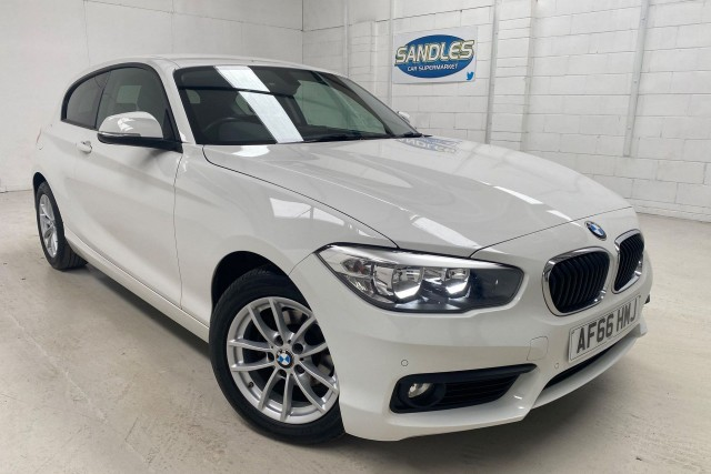 BMW 1 Series 2.0 118d Se 3dr Hatchback 2016
