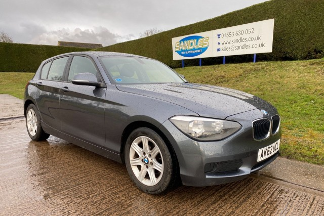 BMW 1 Series 2.0 116d Es 5dr Hatchback 2012