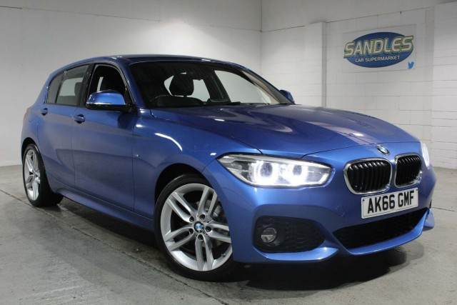 BMW 1 Series 1.5 116d M Sport 5dr Hatchback 2016