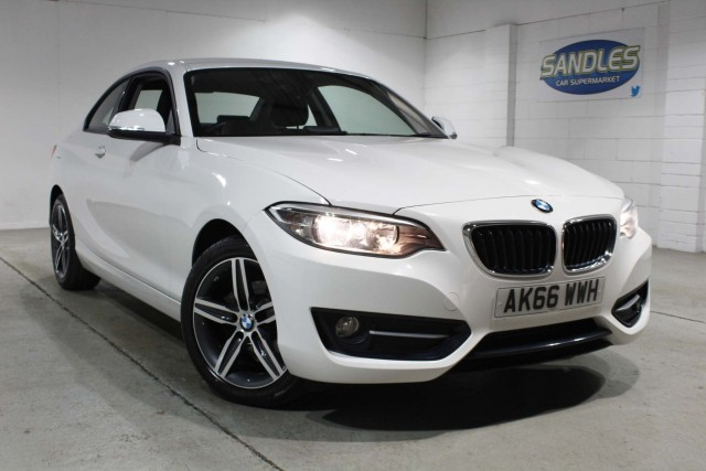 BMW 2 Series 2.0 218d Sport 2dr Coupe 2017