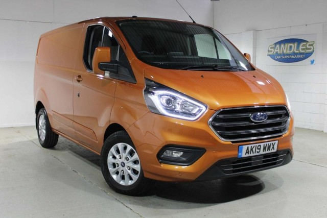 Ford Transit Custom 2.0 280 Limited P/v L1 H1 Panel Van 2019