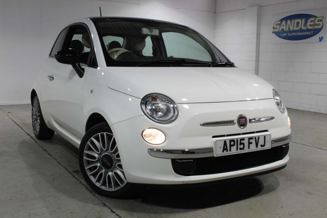Fiat 500 1.2 Cult 3dr Hatchback 2015
