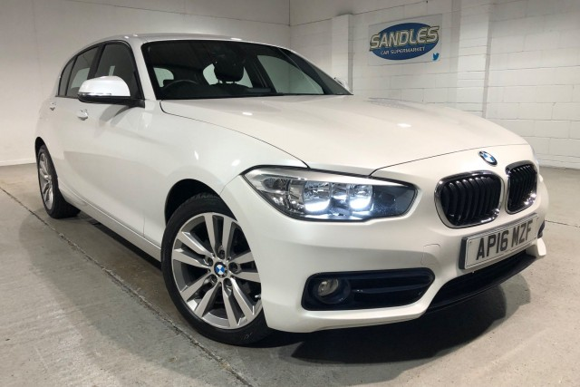 BMW 1 Series 2.0 118d Sport 5dr Hatchback 2016