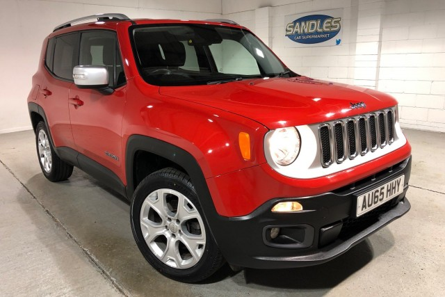 Jeep Renegade 2.0 M-jet Limited 5dr Suv 2015