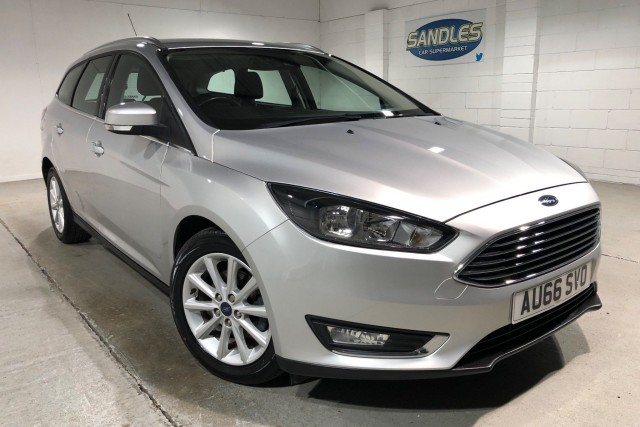 Ford Focus 1.5 Titanium TDCi 5dr Estate 2016