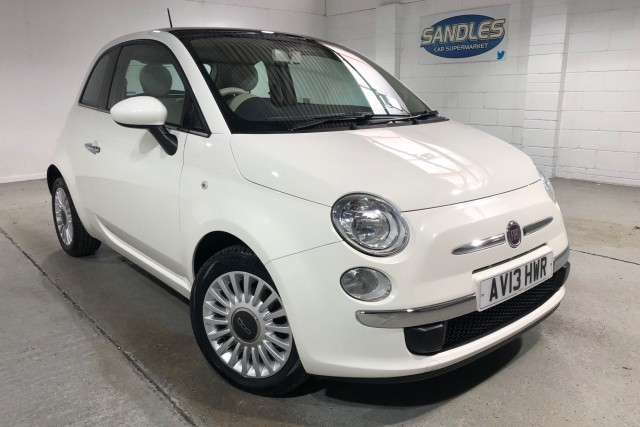 Fiat 500 1.2 Lounge 3dr Hatchback 2013