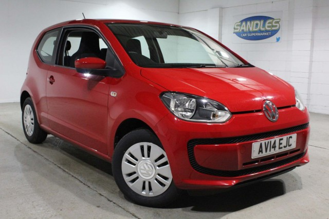 Volkswagen Up 1.0 Move Up 3dr Hatchback 2014