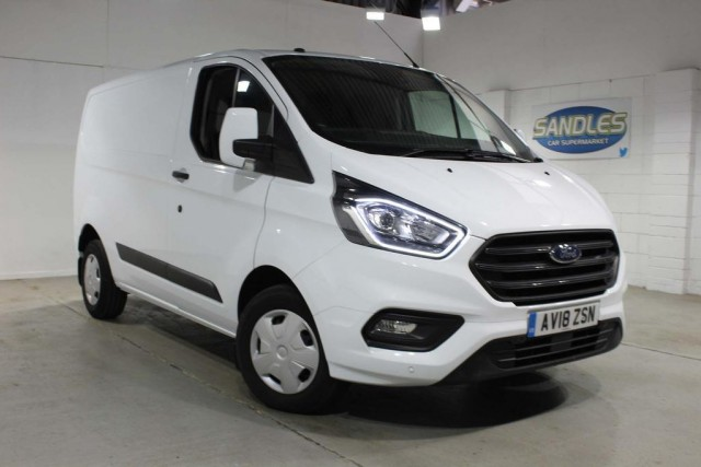 Ford Transit Custom 2.0 280 Trend P/v L1 H1 Panel Van 2018
