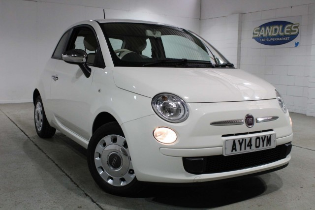 Fiat 500 1.2 Pop 3dr Hatchback 2014