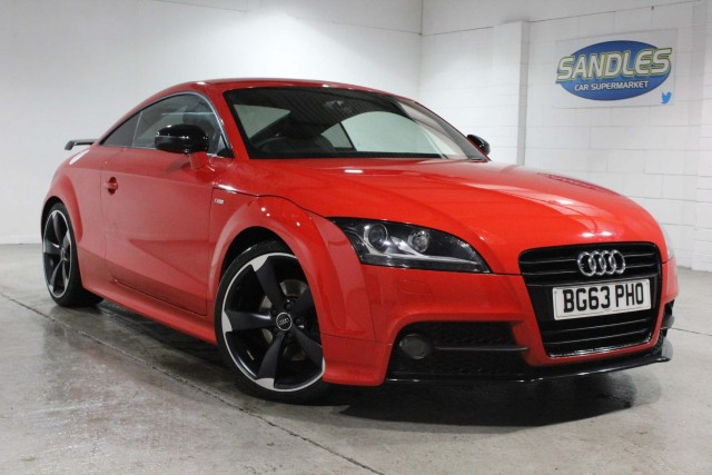 Audi TT 2.0 Tfsi Black Edition 2dr Coupe 2013