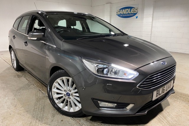 Ford Focus 1.5 Titanium X TDCi 5dr Estate 2016
