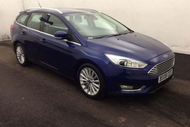 Ford Focus 1.5 Titanium X TDCi 5dr Estate 2014