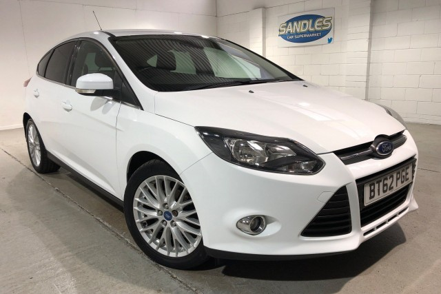 Ford Focus 1.6 Zetec TDCi 5dr Hatchback 2013