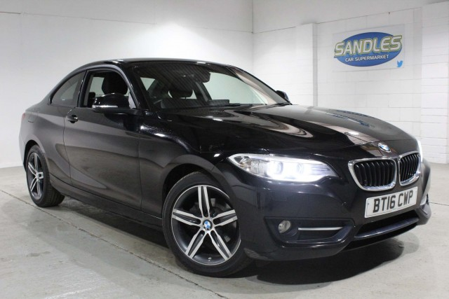 BMW 2 Series 2.0 218d Sport 2dr Coupe 2016