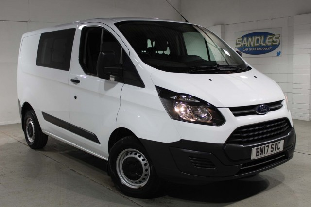 Ford Transit Custom 2.0 290 Lr Dcb Panel Van 2017