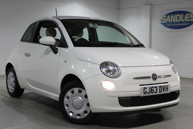 Fiat 500 1.2 Pop 3dr Hatchback 2013