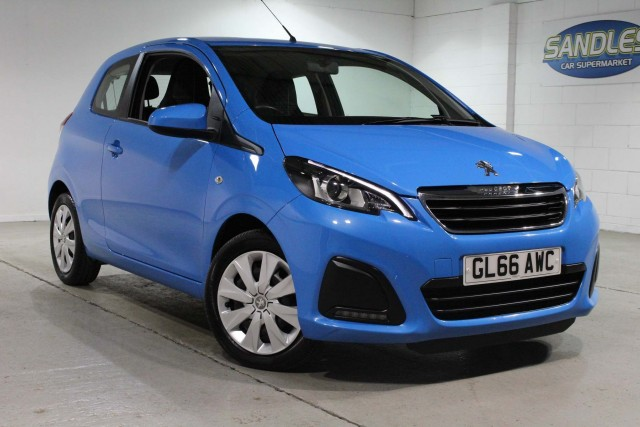 Peugeot 108 1.0 Active 3dr Hatchback 2016