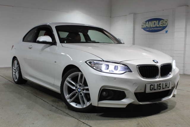 BMW 2 Series 2.0 220d M Sport 2dr Coupe 2015