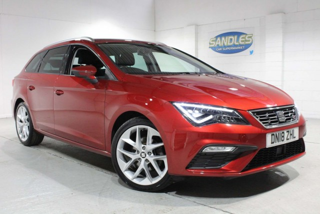 Seat Leon 2.0 TDi Fr Technology 5dr Estate 2018