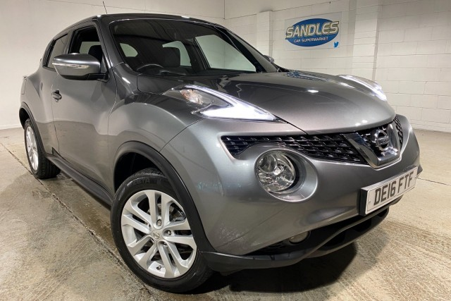 Nissan Juke 1.5 N-connecta Dci 5dr Suv 2016