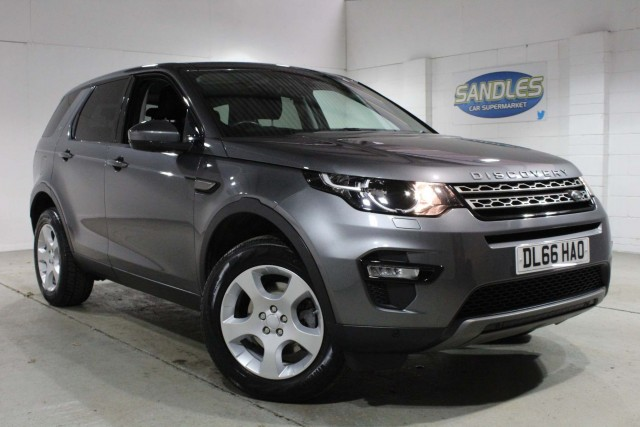 Land Rover Discovery Sport 2.0 TD4 SE Tech 5dr Suv 2016