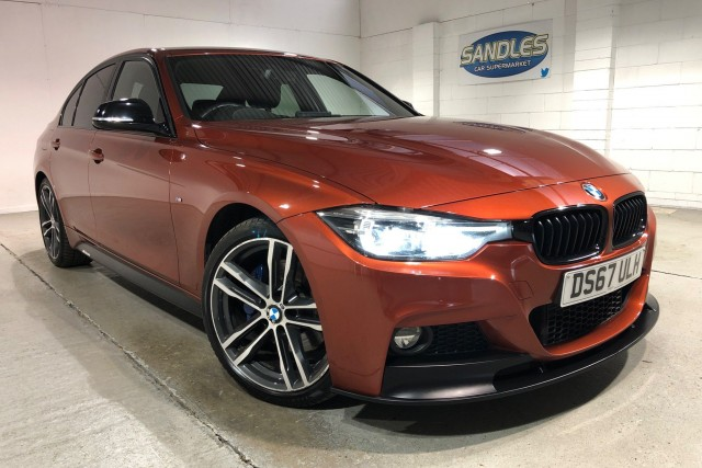 BMW 3 Series 2.0 320d M Sport Shadow Edition 4dr Saloon 2017