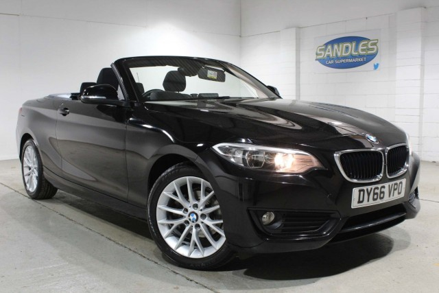 BMW 2 Series 1.5 218i Se 2dr Convertible 2016