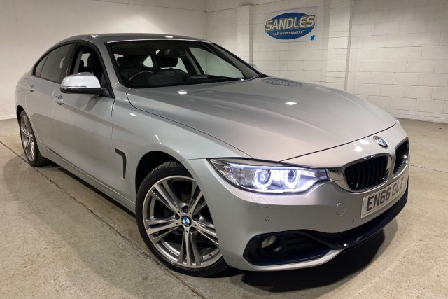 BMW 4 Series 2.0 420d Xdrive Sport Gran Coupe 4dr Coupe 2017