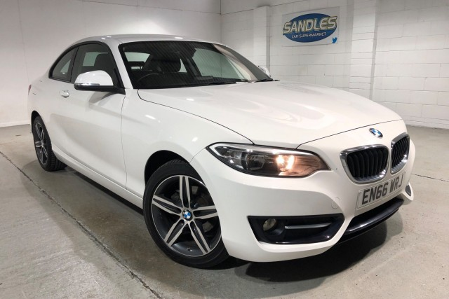 BMW 2 Series 1.5 218i Sport 2dr Coupe 2017