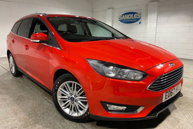 Ford Focus 1.5 Zetec Edition TDCi 5dr Estate 2017