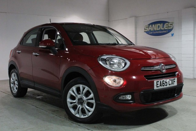 Fiat 500x 1.6 MultiJet Pop Star 5dr Suv 2015