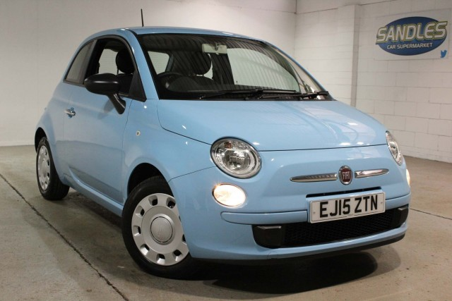 Fiat 500 1.2 Pop 3dr Hatchback 2015