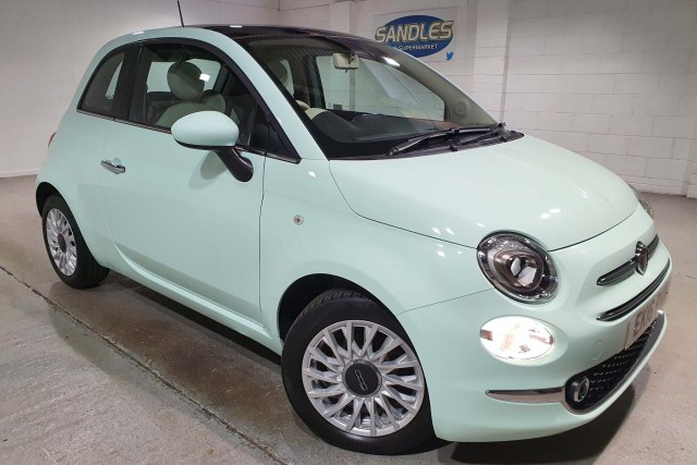 Fiat 500 1.2 Lounge 3dr Hatchback 2016
