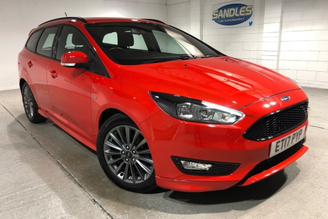 Ford Focus 1.5 St-line TDCi 5dr Estate 2017