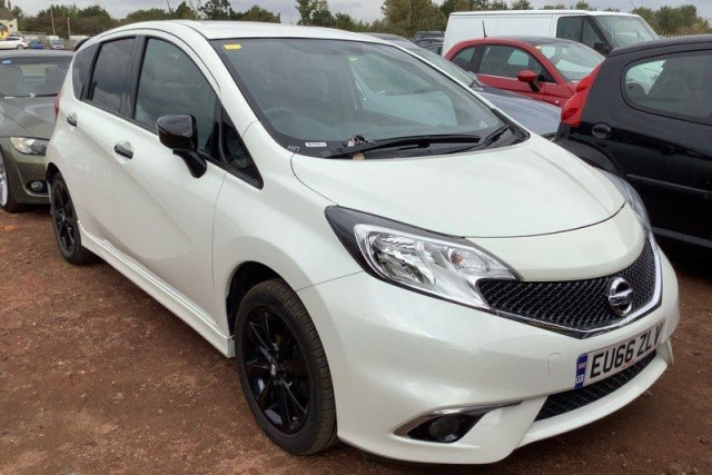 Nissan Note 1.2 Black Edition 5dr MPV 2016