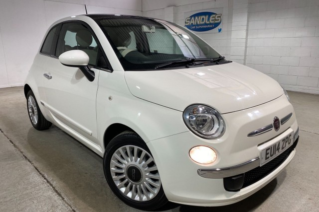 Fiat 500 1.2 Lounge 3dr Hatchback 2014