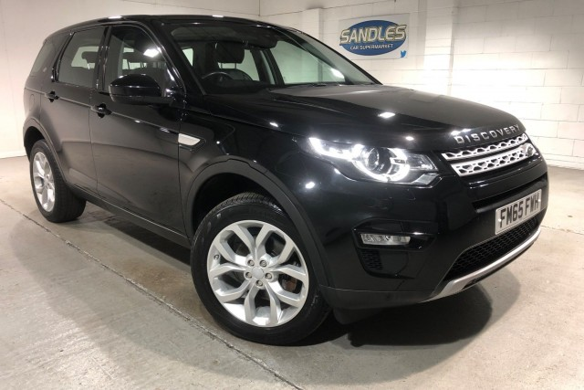 Land Rover Discovery Sport 2.0 TD4 Hse 5dr Suv 2016