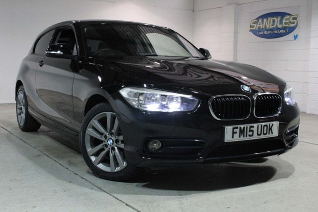 BMW 1 Series 1.6 118i Sport 3dr Hatchback 2015