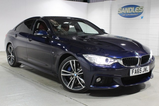 BMW 4 Series 3.0 430d M Sport Gran Coupe 4dr Coupe 2016