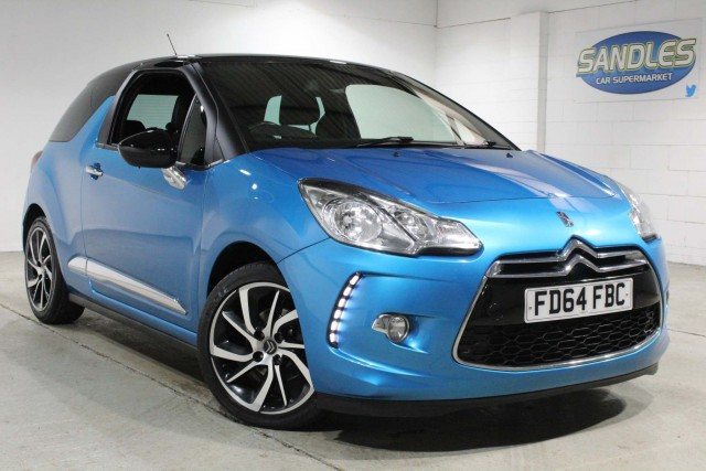 Citroen Ds 3 1.6 E-hdi Dstyle Plus 3dr Hatchback 2014