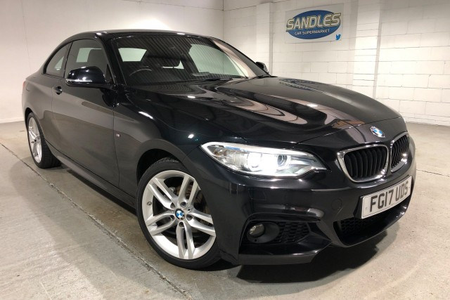 BMW 2 Series 1.5 218i M Sport 2dr Coupe 2017