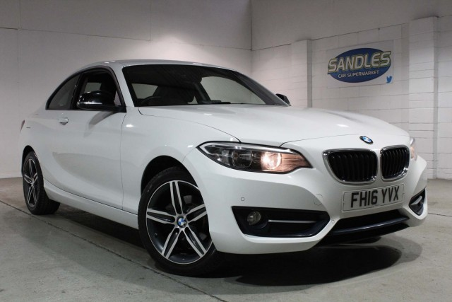 BMW 2 Series 1.5 218i Sport 2dr Coupe 2016