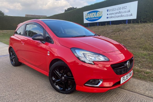 Vauxhall Corsa 1.4 Limited Edition 3dr Hatchback 2015