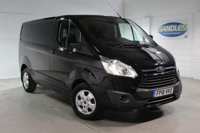 Ford Transit Custom 2.0 290 Limited Lr P/v Panel Van 2018