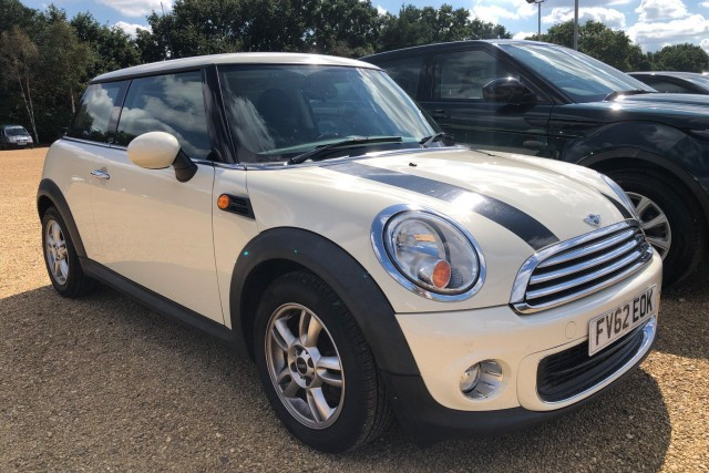 Mini Hatch 1.6 One 3dr Hatchback 2012